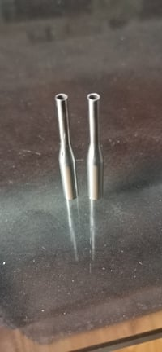 Changed diameter tube