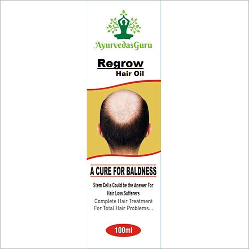 Ayurvedic Regrowth Hair Oil