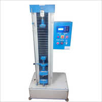 Single Screw Double Load Cell Tensile Tester