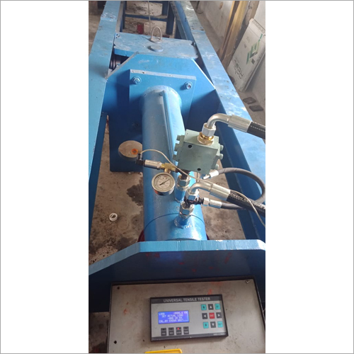 Horizontal Wire Rope Tensile Tester