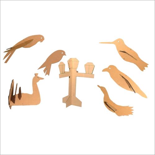Bird Cardboard Puppet