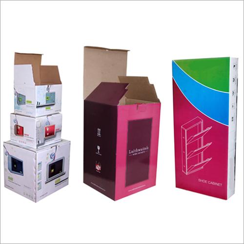 Multi Color Corrugated Carton