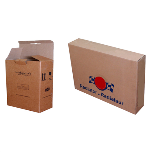 Brown Corrugated Carton