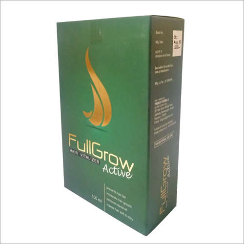 Hair Growth Vitalizer And Oil