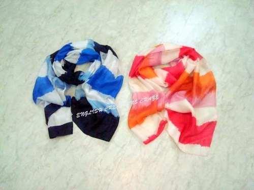 Silk Striper Printed Scarves Wholesaler