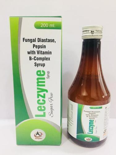 fungal diastase + pepsin+ b-complex syrup