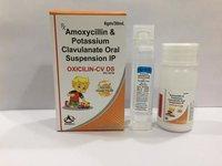amoxycillin 400mg+potassiumclavulanate 57 mg dry syrup