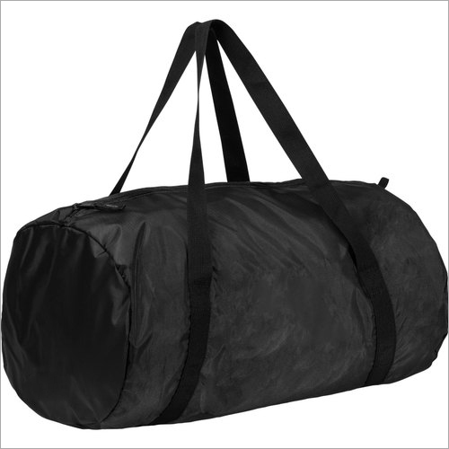 Polyester Black Gym Bag