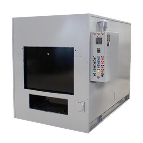 Single body cremation incinerator
