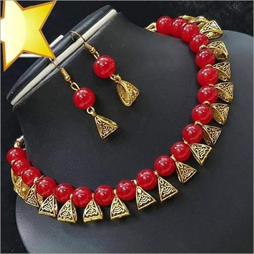 Fancy Handicraft Necklace Set
