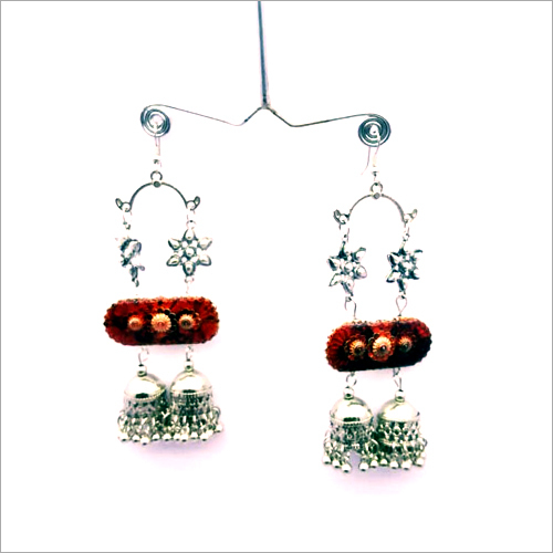 Handicraft Stylish Oxidised  Earring