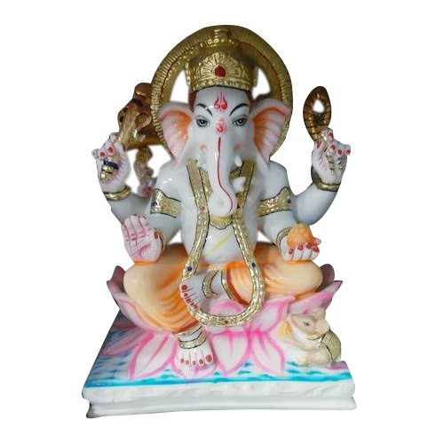 MOULD MARBLE LOTUS GANESHJI