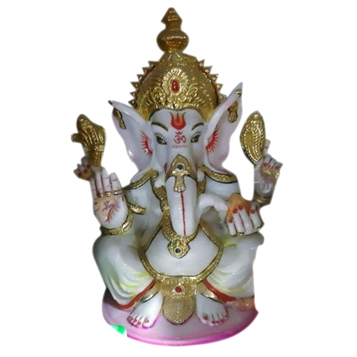 MOULD MARBLE GANESHJI SITTING