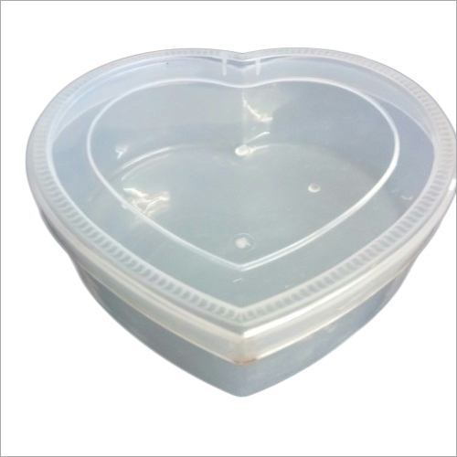 Heart Shape Plastic Container