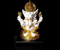 Resin Gold Plating God Statues