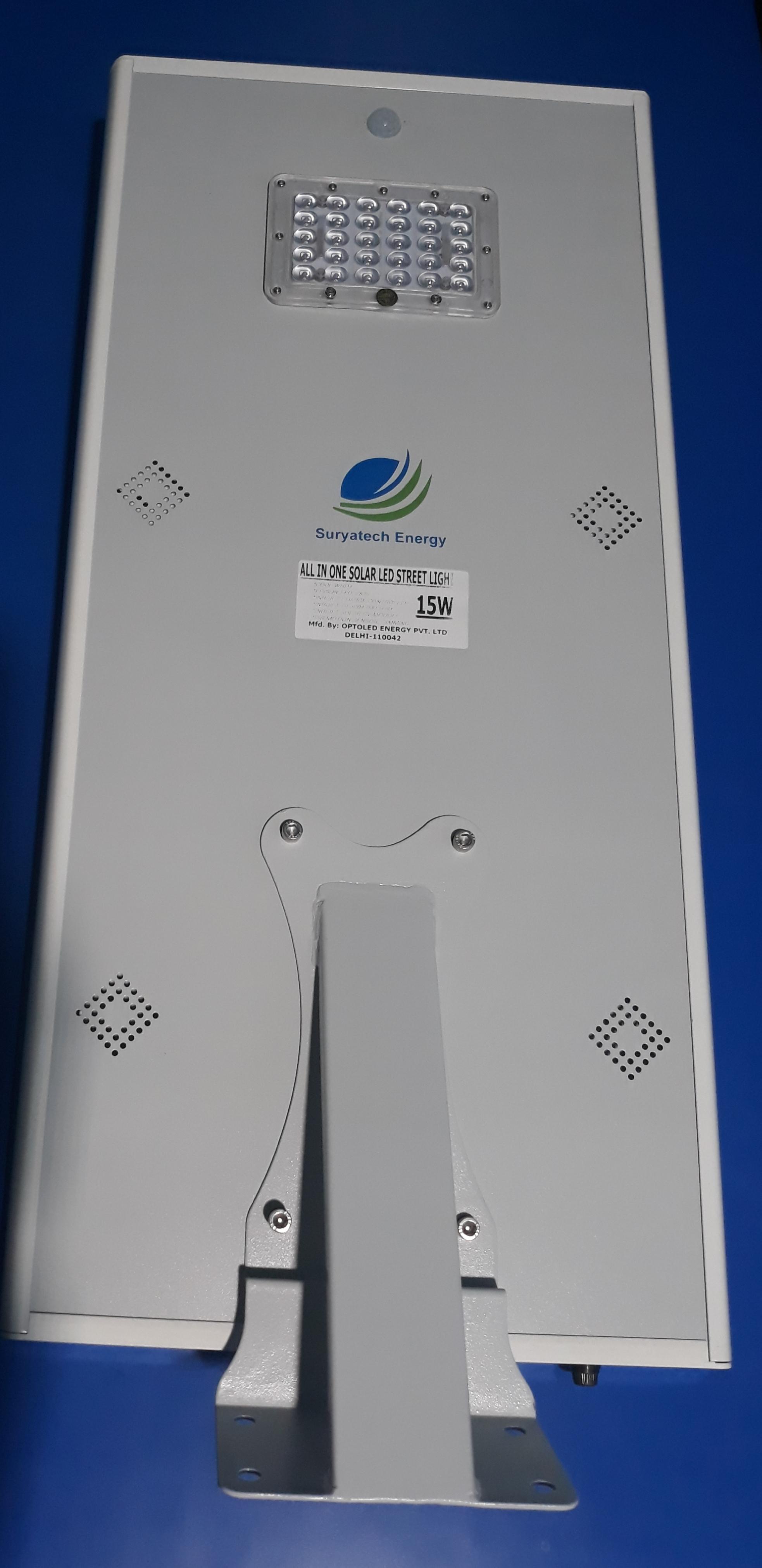 Integrated Solar LED Street Light