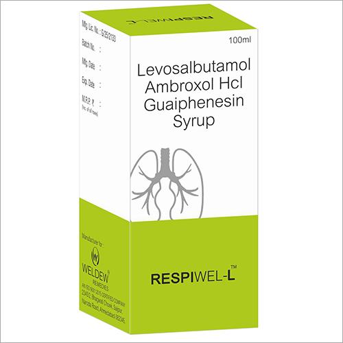 Levosalbutamol Ambroxol Hcl Guaiphenesin Syrup