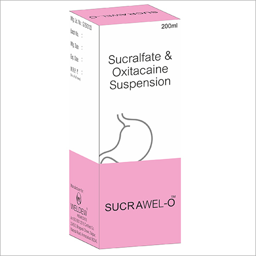 Sucralfate & Oxitacaine Suspension