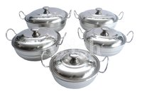 Kohinoor Kadai Dish Set With Wire Handle -4 Pcs