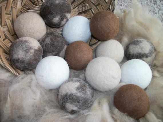 Felt Dryer/Laundry Balls