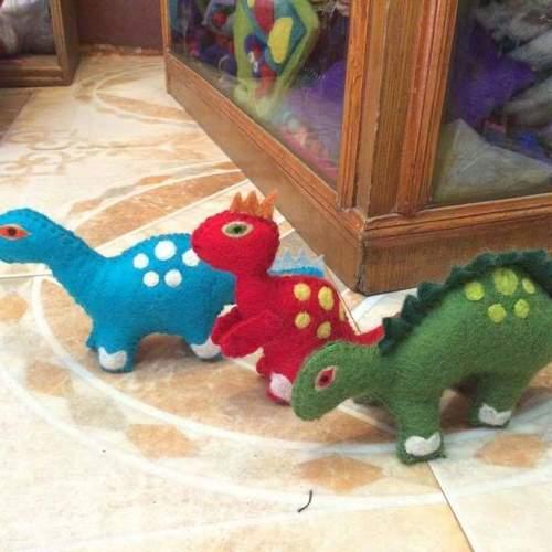 Felt Dinosaur Toys