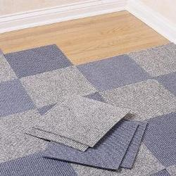 Floor carpet tile for office