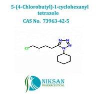 5-(4-Chlorobutyl)-1-cyclohexanyl tetrazole