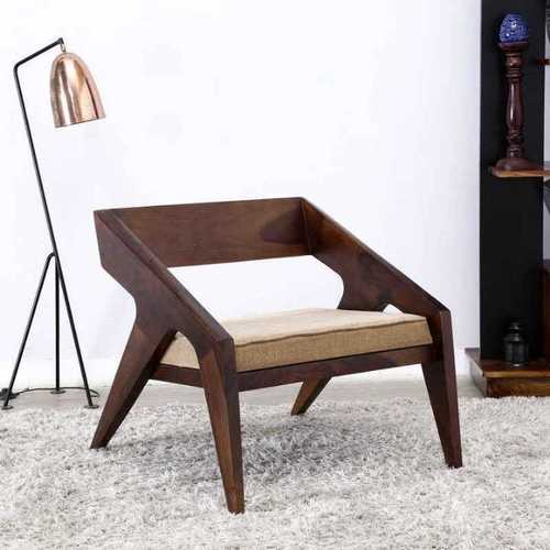 Atharva Solid Wood Single Seat Sofa