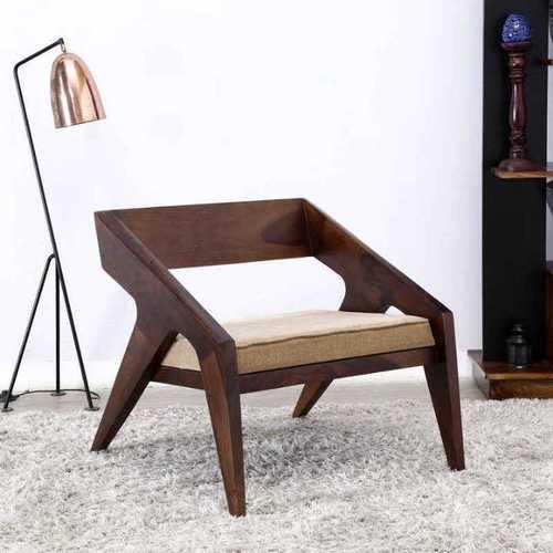 Atharva Solid Wood Single Seat Sofa