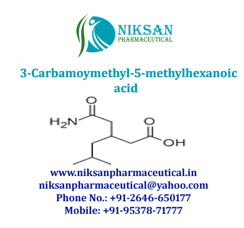3-Carbamoymethyl-5-methylhexanoic acid
