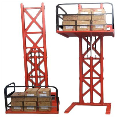 Easy To Operate Single Mast Wall Mounted Stacker