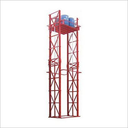 Easy To Operate Double Mast Wall Mounted Stacker