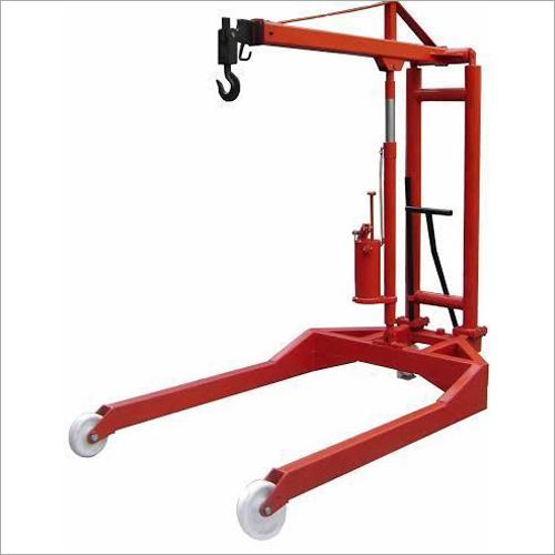 U Model Hydraulic Floor Cranes