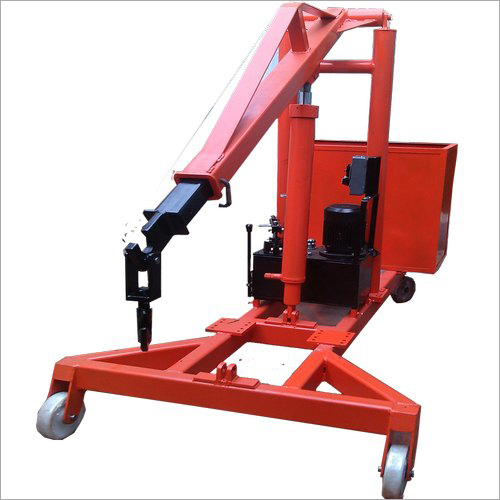 MS Hydraulic Floor Cranes