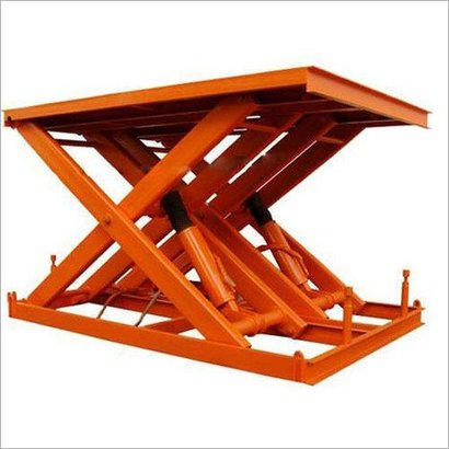 Durable Pit Mounted Scissor Lift Table
