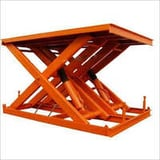 Pit Mounted Scissor Lift Table