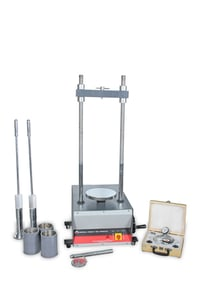 """Modified Marshal Stability Testing Machine - 6"""" Dia With Proving Ring & Dial Gauge"""