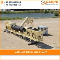 Asphalt Drum Mix Batching Plant
