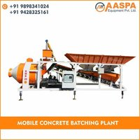 Drum Mixer Concrete Batching Plant