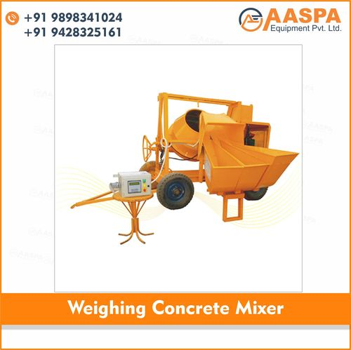 Weighing Concrete Mixer