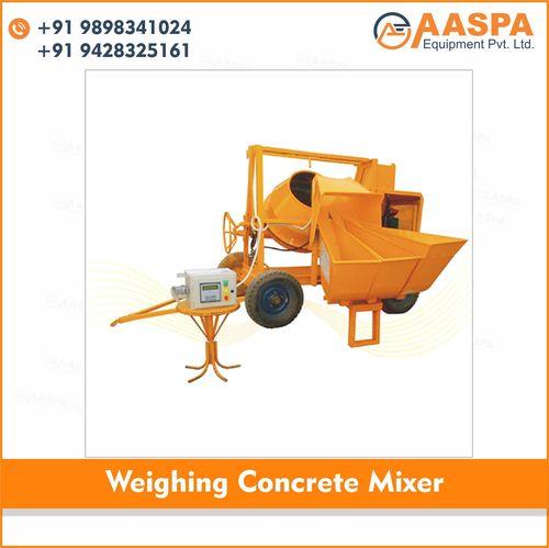 Weighing Concrete Mixer