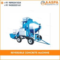 Diesel Engine Operated Reversible Concrete Mixer
