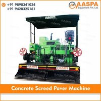 Concrete Screed Paver Machine