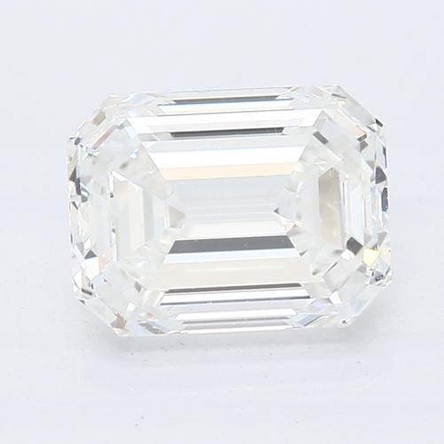 CVD Diamond 1.56ct  H VS1 Emerald Shape IGI Certified Stone