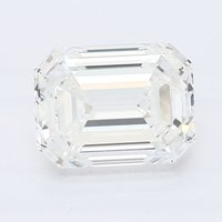 CVD Diamond 1.56ct  H VS1 Emerald Shape IGI Certified Stone
