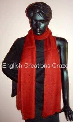 Poly-Wool Jacquard shawls