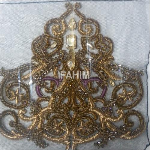 Metallic Embroidery Hand Work