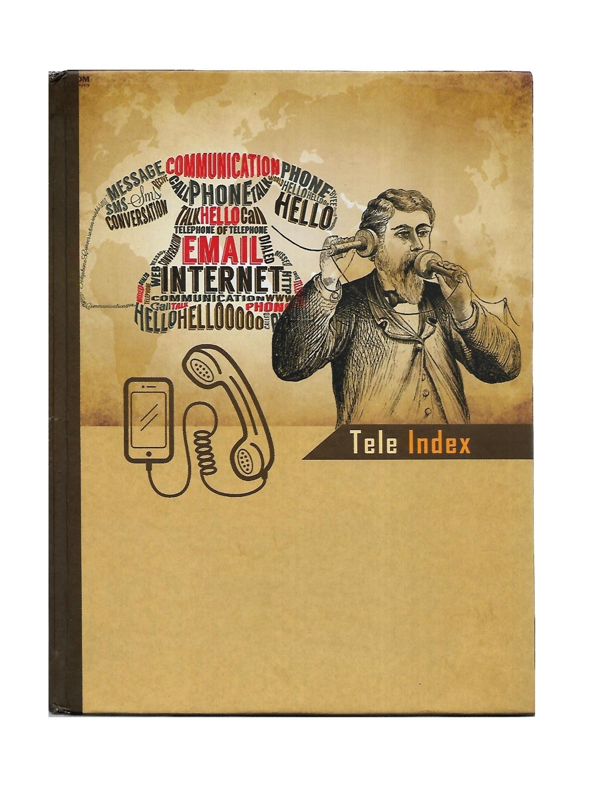 Nescafe Size Telephone Diary, Hard Binding (256 Pages)