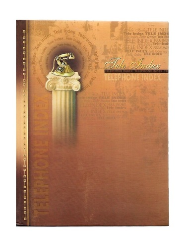 Nescafe Size, Telephone Diary, Hard Binding (128Pages)