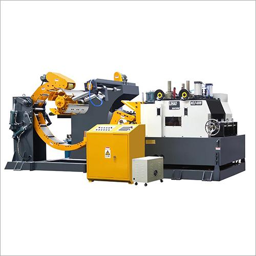 NCLF Type Straightener Feeder And Uncoiler 3 In 1 Machine